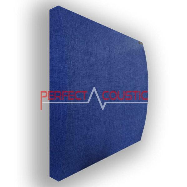 3d panel blue