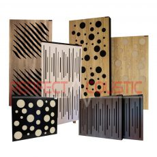 Panele akustyczne z dyfuzorem