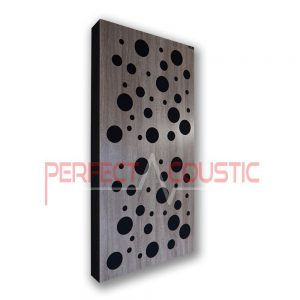 Acoustic panel with diffuser type- color (3)