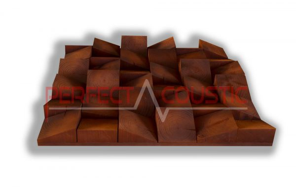 Wood acoustic diffuser type (2)