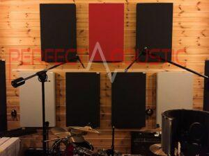acoustic separation of drum equipment (2)