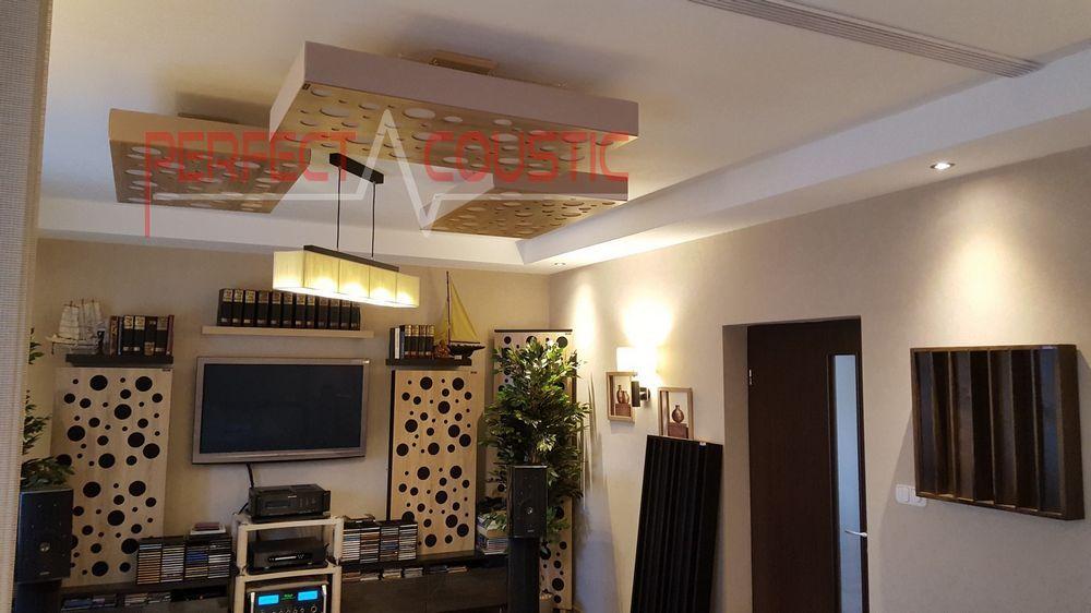 Acoustic ceiling panels