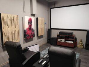 cinema room with-