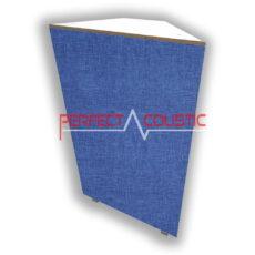 corner bass panel blue