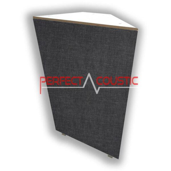 corner bass panel dark grey
