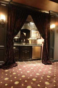 black out curtains- soundproof curtain