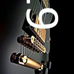 guitar player with photo acoustic elements