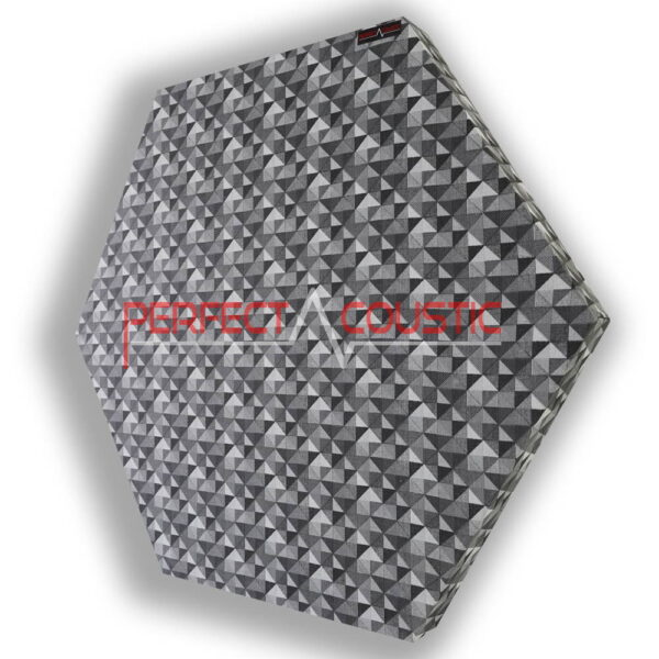 hexagonal acoustic panel-chequered