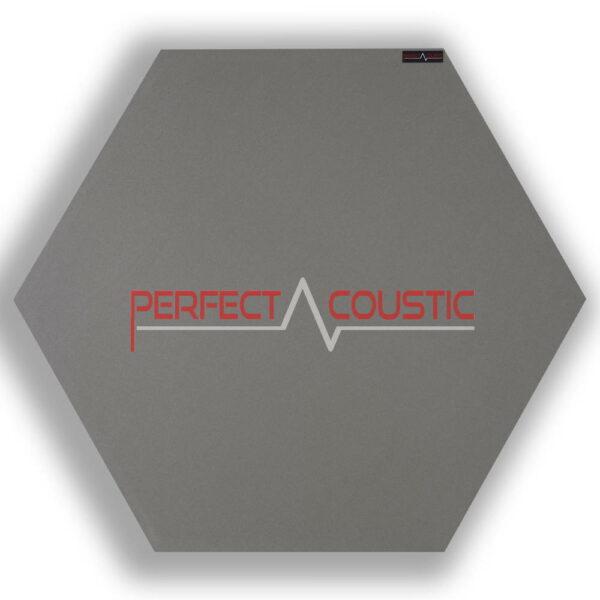 hexagonal acoustic panel-grey 2