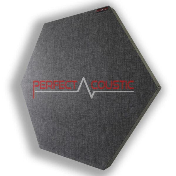 hexagonal acoustic panel-patterned-dark grey