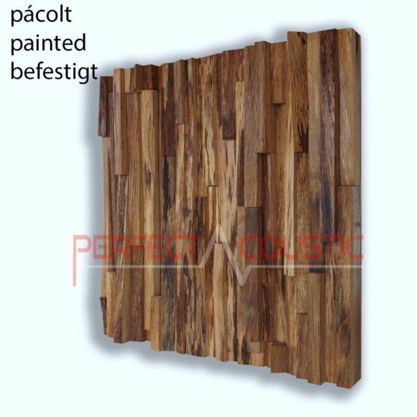 oak wood acoustic diffuser color