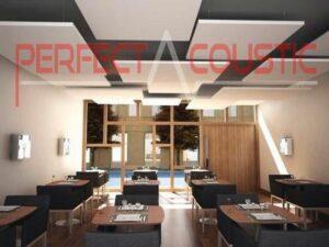 acoustic ceiling tiles-office acoustics execution