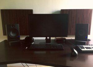 studio acoustic panel
