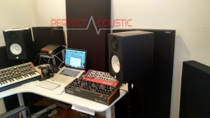 treatment after studio acoustic measurement