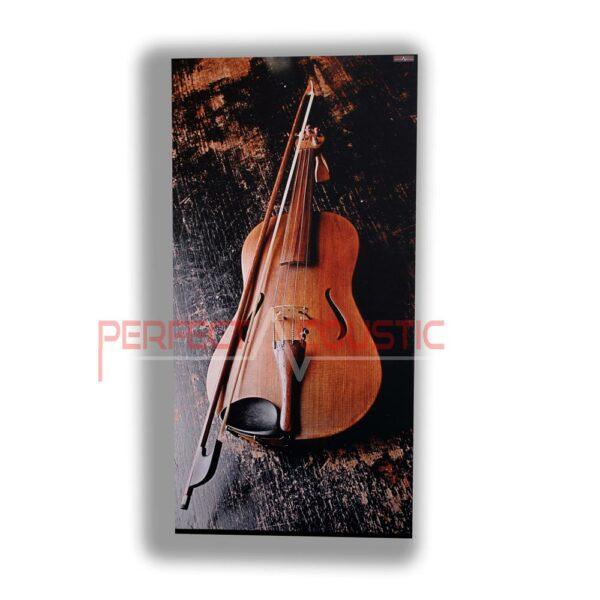 violin printed acoustic panels